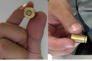 A munição é de uso restrito da Polícia Militar e o vestígio de que uma arma tenha sido disparada foi encontrado dentro da Cidade Universitária.