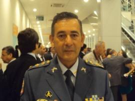 Luiz de Castro Jr. : o coronel da PM agora comanda a Guarda Universitária sob ordens diretas do reitor-interventor