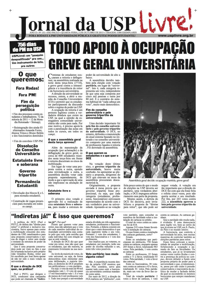 Jornal da USP Livre! nº131