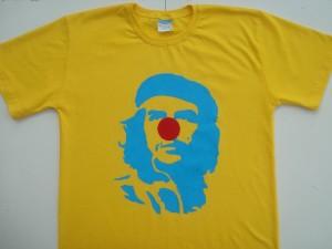 Para os pseudo-marxistas: Che Guevara com nariz de palhaço.